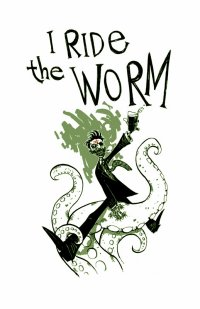 Wormwood the zombie riding a tentacle