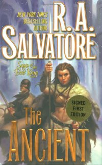 Book Cover - RA Salvator's The Ancient