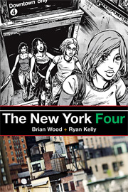 The New York Four cover image